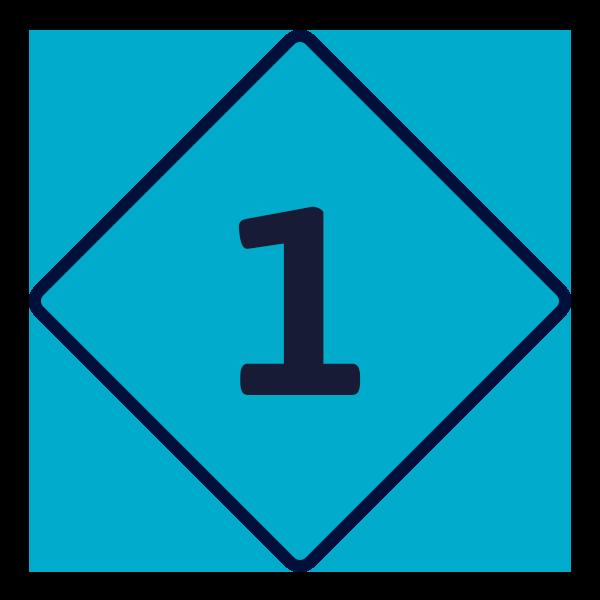 Road sign number 1