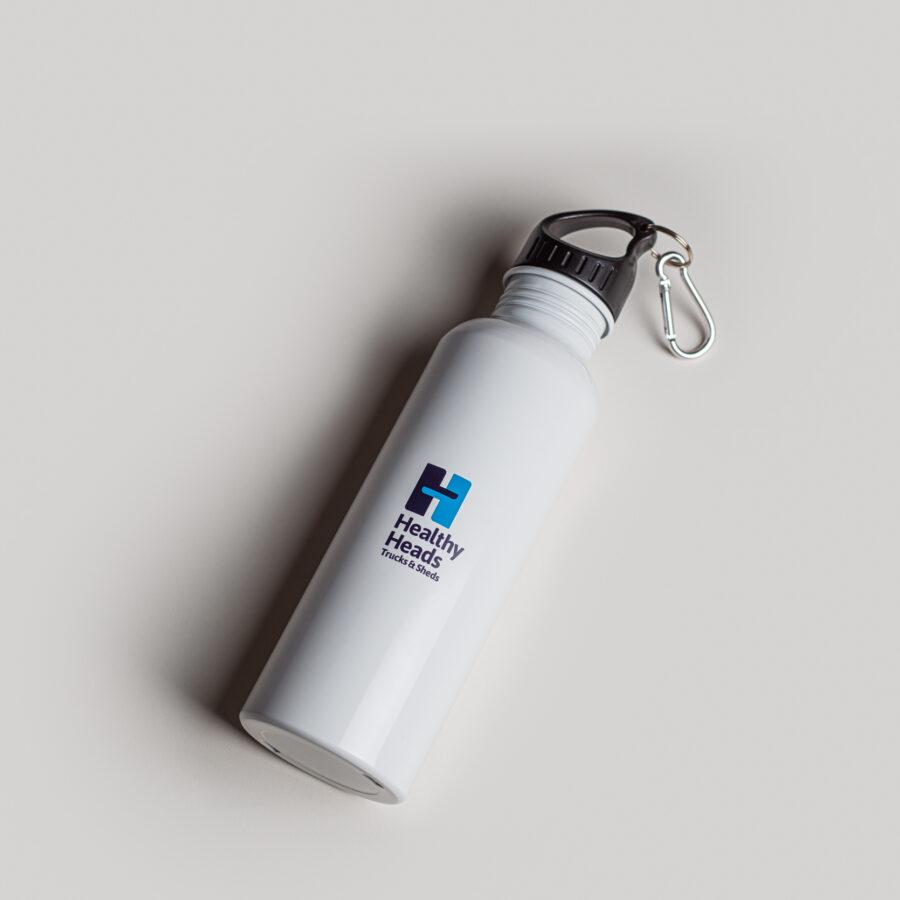 Healthy Heads water bottle